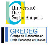 GREDEG seminars (UMR 7321 - CNRS & University of Nice Sophia Antipolis)